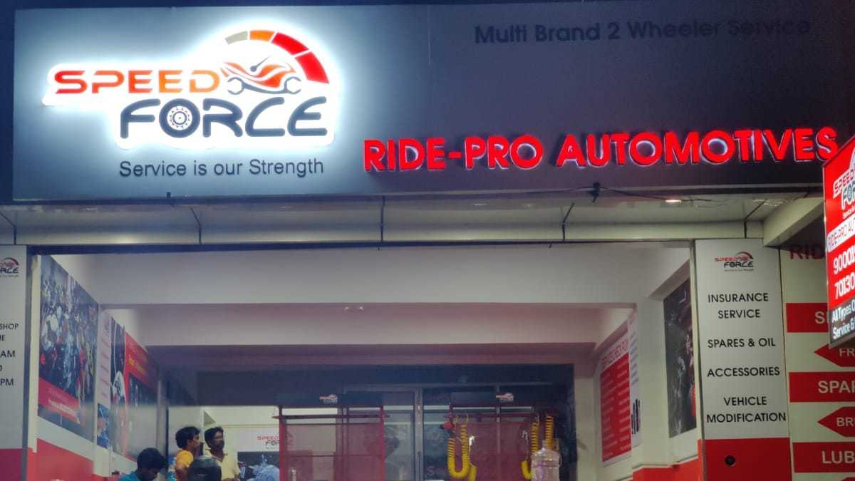 SpeedForce – Ride-Pro Automotives solving problems of  2 Wheelers Services now in HYDERABAD